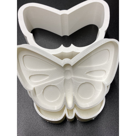 Butterfly Bath Bomb Mold 3 D Printed