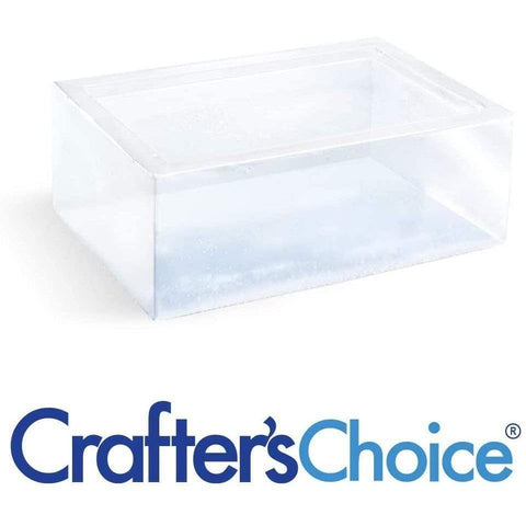 Crafter's Choice Clear M&P Soap Base 10 lb Block