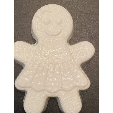 Gingerbread Girl Plastic  Hand Mold