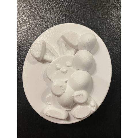 Juggling Bunny Plastic Hand Mold