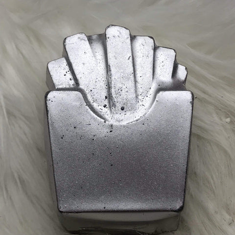 French Fries Plastic Hand Mold