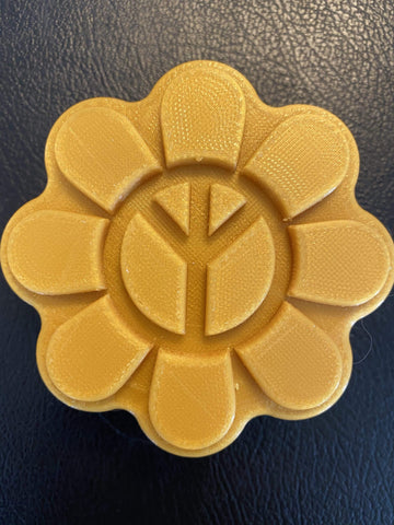 Peace Flower Plastic Hand Mold