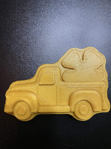 Saint Patrick's Day Pick Up Truck Plastic Hand Mold