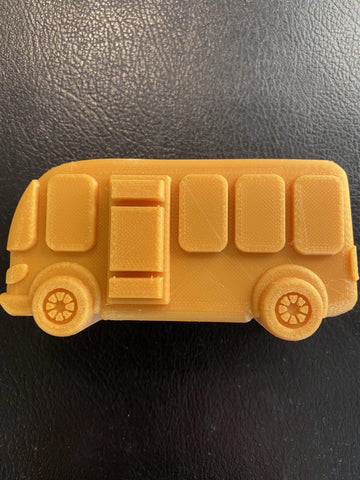 School Bus Plastic Hand Mold