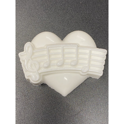 I Love  Music Plastic Hand Mold