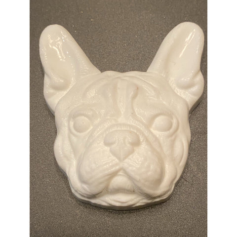 French Bulldog Plastic Hand Mold