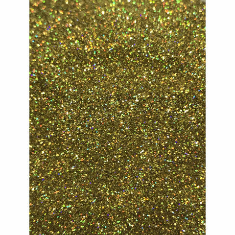 Gold Holographic Earth Friendly Glitter - Fizz Fairy & Krazycolours Inc.