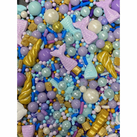 Mermaid Tales from Beneath the Sea Candy Sprinkles