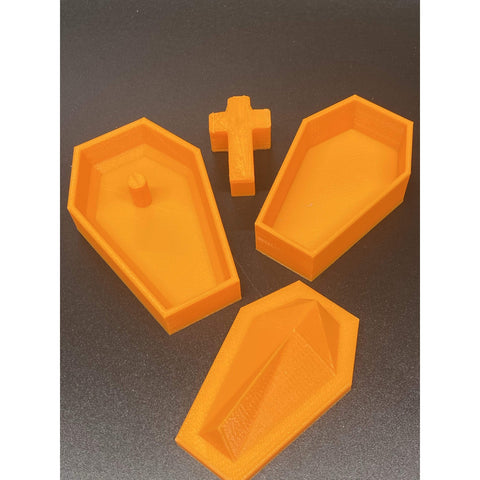 Coffin Bombshell Hand Mold 3 D Printed