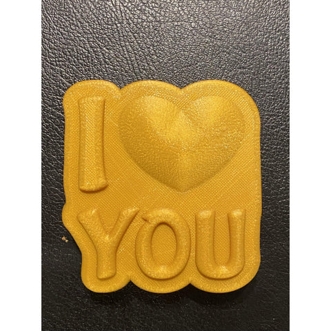 I Love You Plastic Hand Mold
