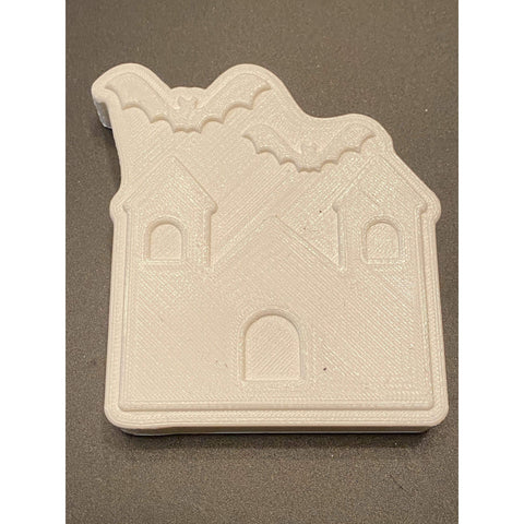 Haunted House Plastic Hand Mold