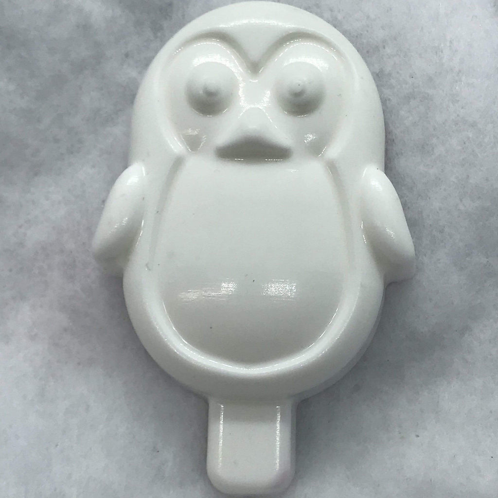 Penguin Ice Cream Plastic Hand Mold