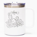 Succulent Garden *CUSTOMIZED* - Coffee Mug