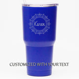 Fancy Border *CUSTOMIZED* - 30 oz Tumbler