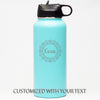 Fancy Border *CUSTOMIZED* - Sports Bottle