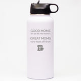 Good Moms Let You Lick the Beaters - Sports Bottle Horizontal