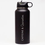 Caffeine & Quarantine - Sports Bottle