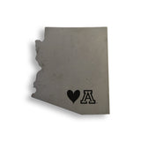 Love UA Concrete Coasters