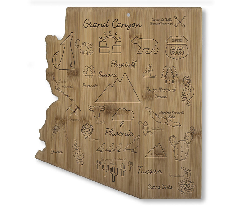 Arizona Landmarks Cutting Board