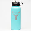 Best Buckin Papa - Sports Bottle