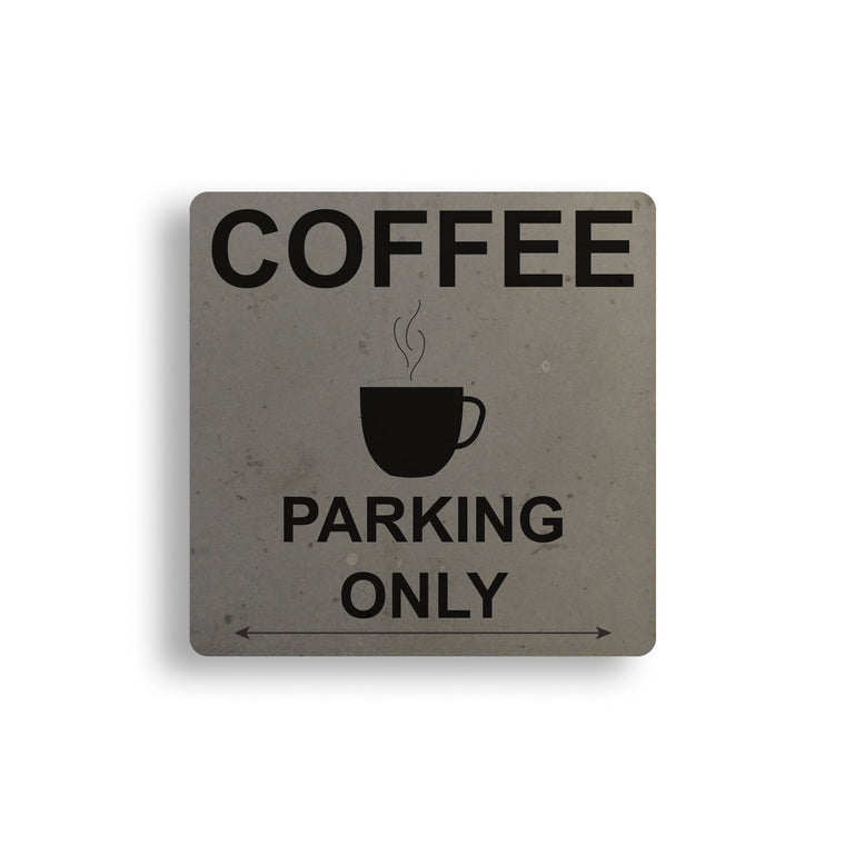 Coffee Parking Concrete Coaster