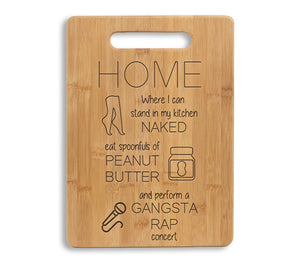 Gangsta Rap Cutting Board