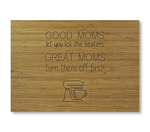 Good Moms Cutting Board