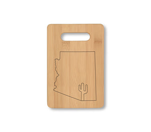 AZ Saguaro Cheese Board