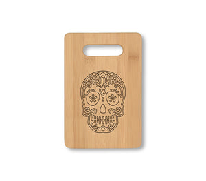 Sugar Skull Cheese Board
