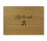 Kiss the Cook Cutting Board