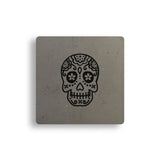 Sugar Skull Concrete Coasters