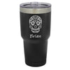 Sugar Skull Tumbler - 30 oz Customized