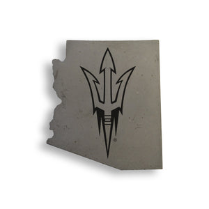 Forks Up Az Concrete Coasters