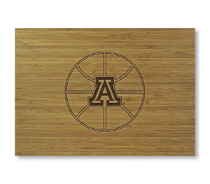 Arizona Basketball Logo Cutting Board
