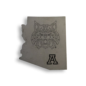 Wildcat Country Concrete Coasters