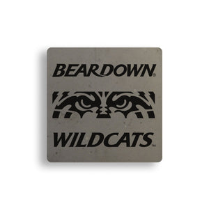 Wildcat Eyes Concrete Coasters