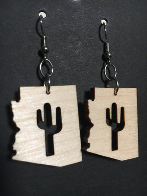 Arizona Saguaro Earrings