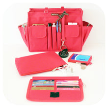 Myliora Complete Features | Waterproof Handbag Organiser with Zip, LARGE Size