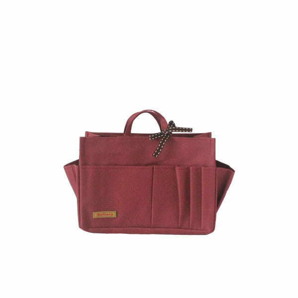 Waterproof Bag Organiser Medium size, Burgundy | Myliora.com