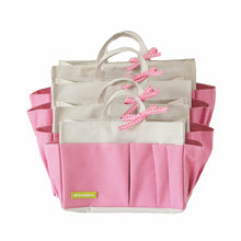 Pink Cream Bag Organiser - Waterproof, Sturdy, Lightweight | MYLIORA.COM
