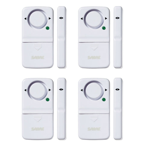 Door or Window Alarm, 4-Pack