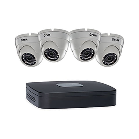 FLIR IP N4A143 Full HD PoE+ NVR System
