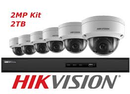 8CH 2TB NVR KIT W/6 2MP OD CAM  Hikvision Usa Inc. Model #: I7608N2TA