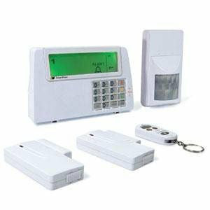 "Semi-Portable Wireless Alarm System ""Plug &Play"""