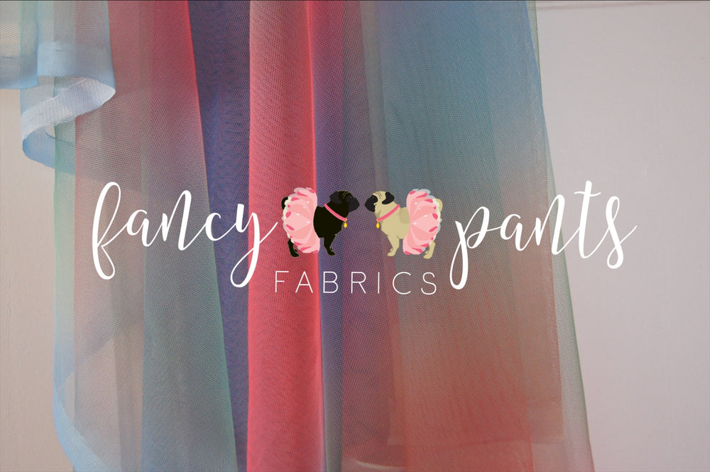 Mermaid Tails-Rainbow Mesh Tulle - Fancy Pants Fabrics