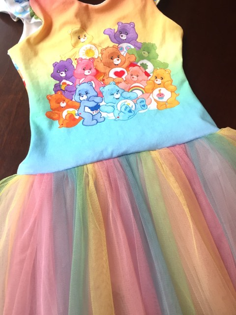 Unicorn Dreams-Rainbow Mesh Tulle - Fancy Pants Fabrics