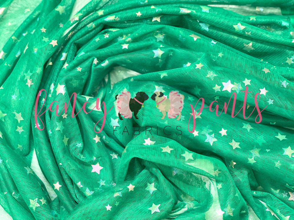 Holiday Green Glow-in-the-Dark Stars -MINOR FLAWS