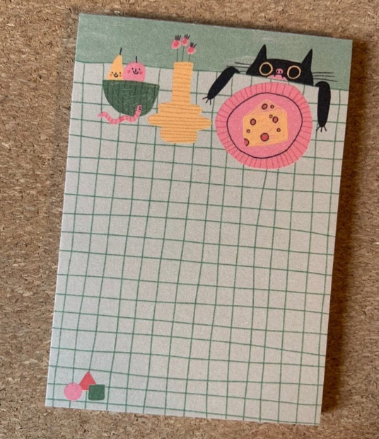 Cheesecat Notepad