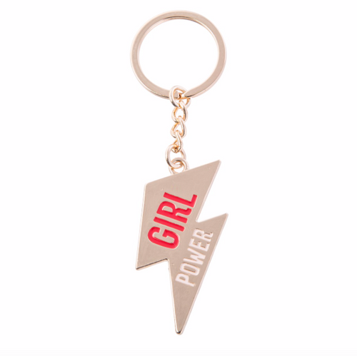 Girl Power Keyring