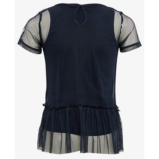 Cute Tee with Mesh Volant 2 in 1 - Petit Atelier Enfant